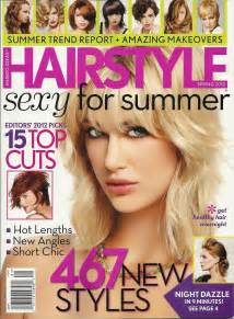 new hair hairstyle magazines