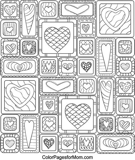 advanced valentine coloring pages hearts 33 advanced coloring pages