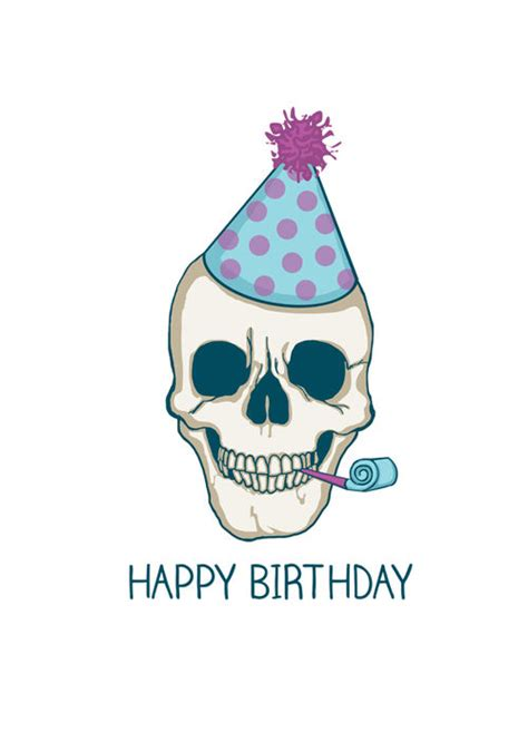 imagenes happy birthday daddy free happy birthday skull card xo cmyk on imgfave