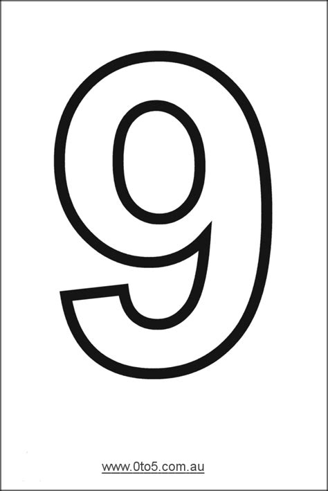 number 9 cake template number nine printable template n 218 mero 9 graf 205 a y