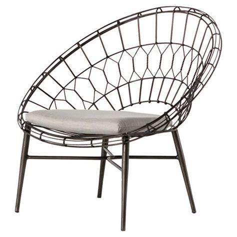 albin loft sunburst metal outdoor lounge chair kathy kuo
