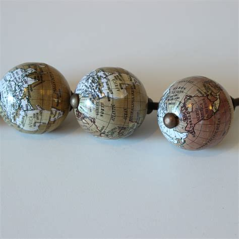 decorative drawer handles uk set of 4 map of the world decorative drawer handles