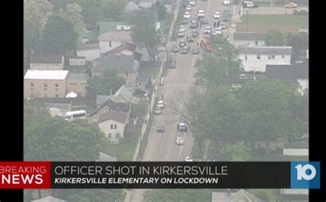 Ohio Officer Shooting by Ohio Officer Elementary School On Lockdown Wink News