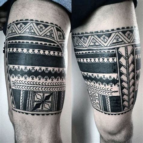 maori leg tattoos for men 60 tribal leg tattoos for cool cultural design ideas