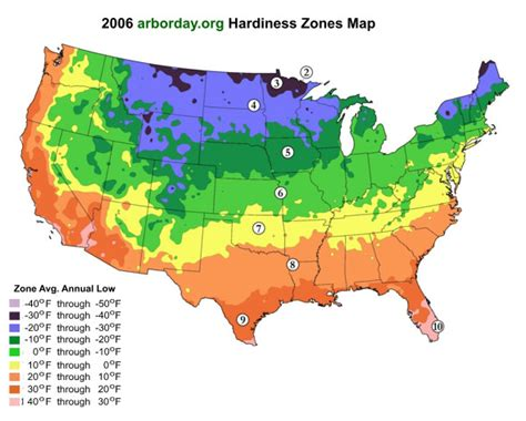 what is my gardening zone planting zones