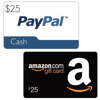 amazon gift card paypal free 25 paypal or amazon gift card from impacthealth non