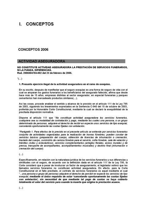 carta de funeraria libro doctirna y jurisprudencia 2006 2012 by dyservet