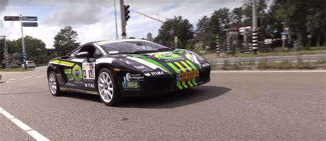 rally lamborghini dutch lamborghini gallardo rally car is surreal motoring