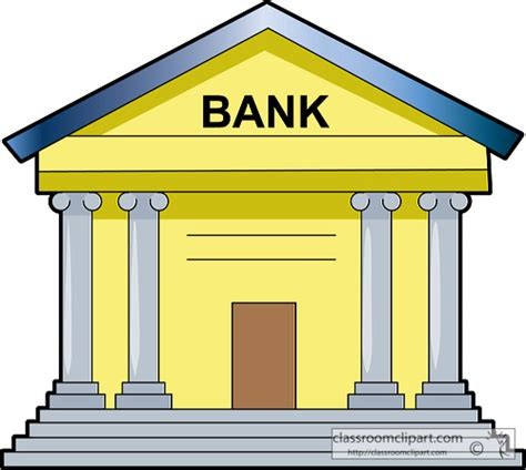 die bank de banking money clipart money bank 213 classroom clipart