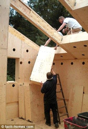 what do i need to build a house a real diy job the flatpack house you can build yourself