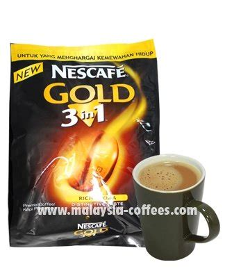 Nescafe Gold 3in1 20g X 10pcs nescafe gold 3 in 1 coffee products malaysia nescafe