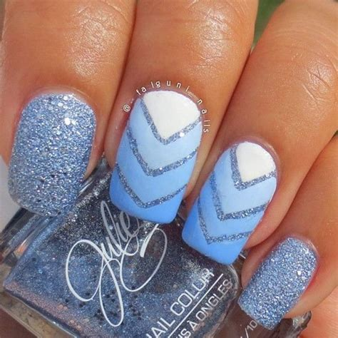 easy nail art blue and white 60 ombre nail art designs nenuno creative