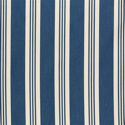 Stripe Upholstery Fabric by Stripe Navy Easycare Fabric By The Yard