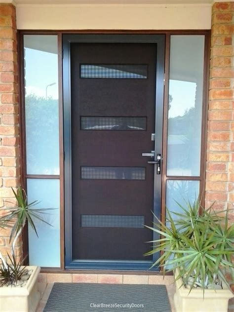 window pation door screen clear security door stainless steel mesh range