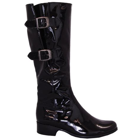 Log In To Win A Longch Black Patent Legende Bag by Gabor Boots Verano Boot In Black Patent Mozimo