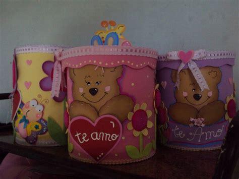 decoraciones deminnie en latas de leche latas de leche decoradas latas decoradas souvenirs para