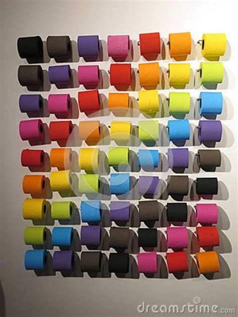 colorful toilet paper colourful toilet paper editorial photography image of