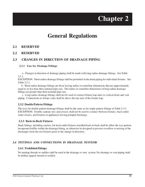 National Standard Plumbing Code by National Standard Plumbing Code