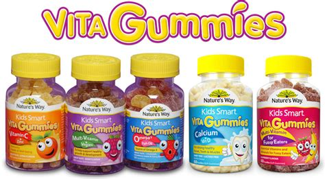 Nature S Way Smart Vita Gummies Vitamin C Zinc 1 smart vita gummies smart growing healthy