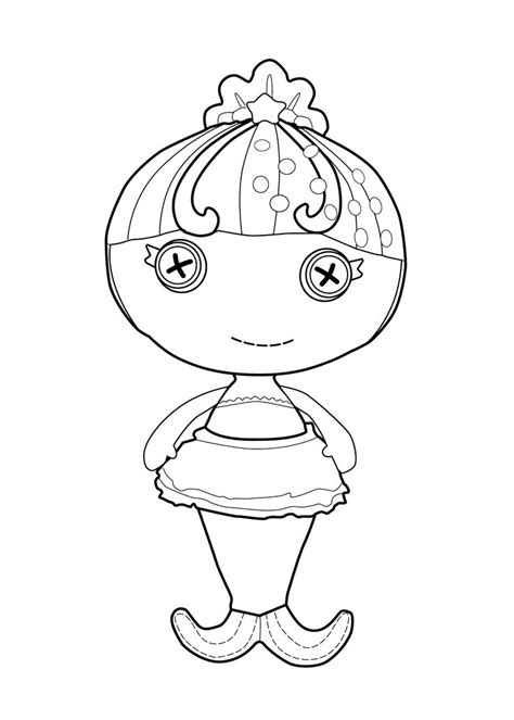 coloring page lalaloopsy dolls 34 best images about coloriages lalaloopsy on pinterest