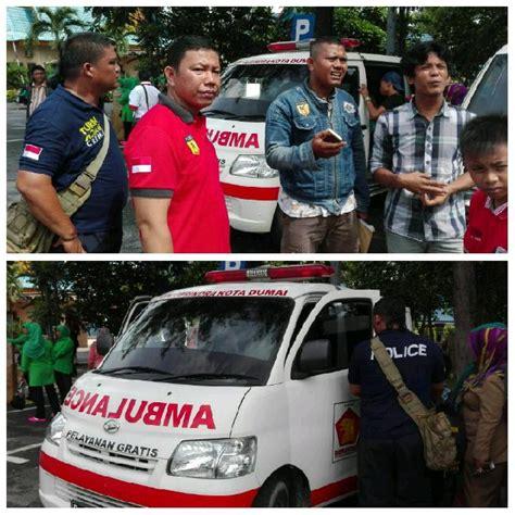 Tv Mobil Pekanbaru mobil ambulance hantar puluhan orang ke pekanbaru