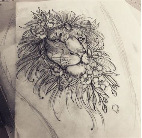 lion tattoo sketch 1000 ideas about on tattoos