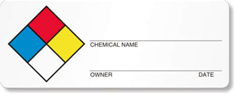 Sds Labels Preprinted And Custom Msds Msds Label Template