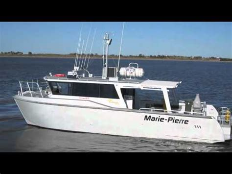 gmd boats gmd quot marie pierre quot 12 5m catamaran youtube
