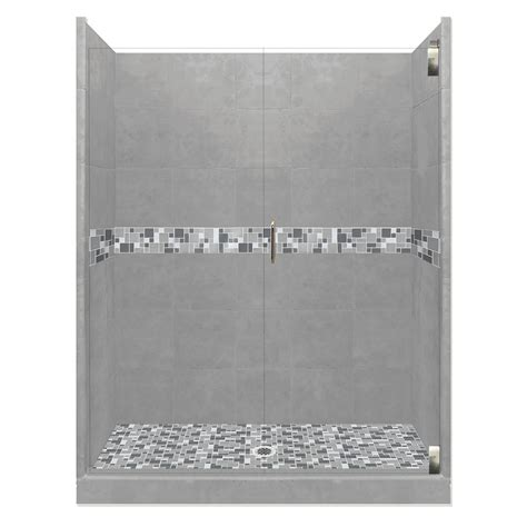 american bath factory shower systems reviews american bath factory newport grand hinged 32 in x 36 in x 80 in center drain alcove shower