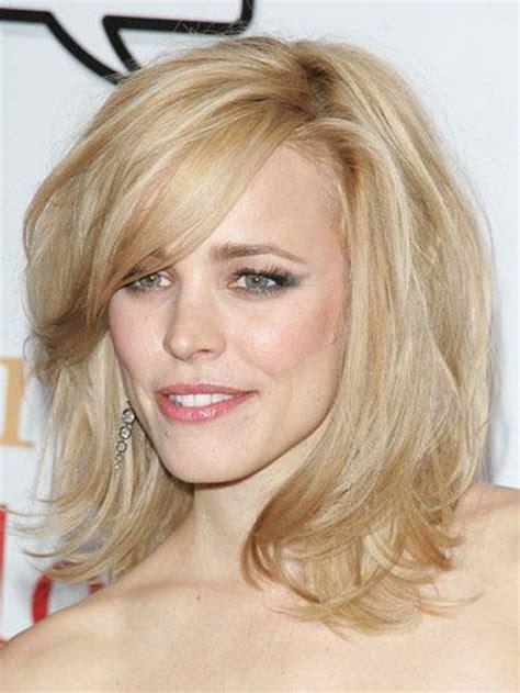 mid length celebrity medium length hairstyles