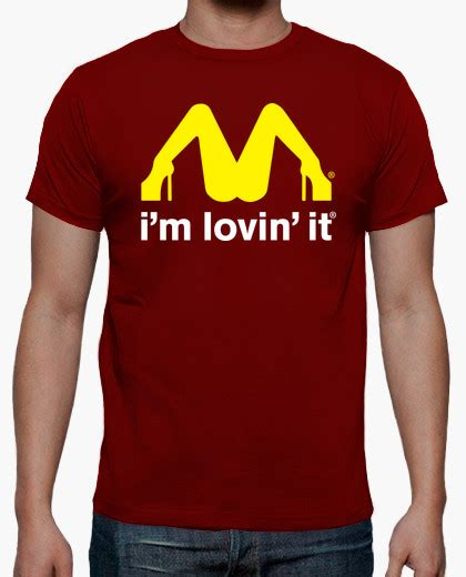 Tshirt Ra Jns 17 Navy i m lovin it logo mcdonald s t shirt 598247