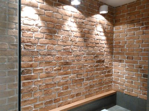Brick Effect Cladding Interior by Brick Veneers Cladding Alternative Uk Feature Walls