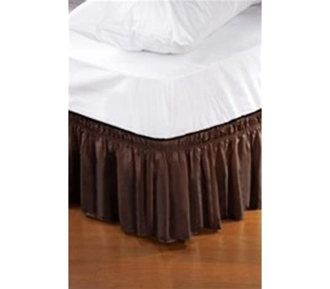 twin bed skirts twin xl bed skirt chocolate extra long dorm bed accessory