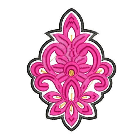 embroidery design butta new pink butta embroidery design
