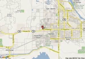 hemet california map map of 8 motel hemet hemet