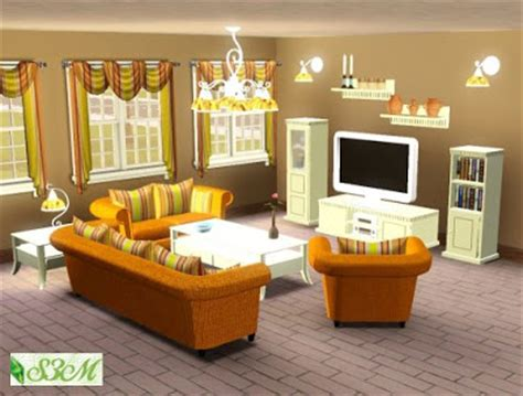 My Sims 3 Blog Isny Living Room Set By Simmami Sims 3 Living Room Sets