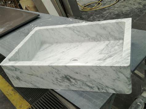 top marmo cucina piano e top cucina in marmo bianco di carrara canalmarmi
