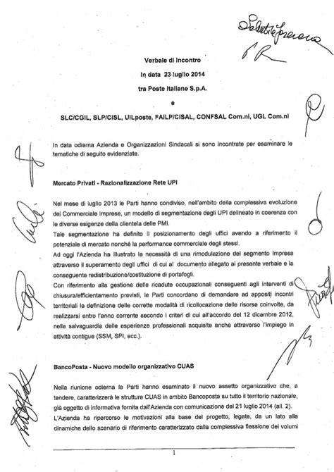 layout verbale riunione verbale accordo 23 luglio