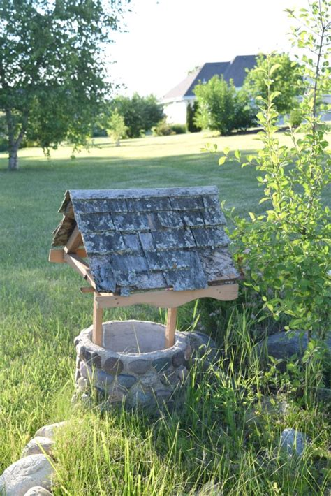 Wishing Well Garden Decor Curb Appeal Challenge The Reveal Our House Now A Home