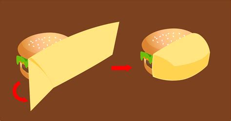 How To Make A Paper Hamburger - 3 ways to wrap a burger wikihow