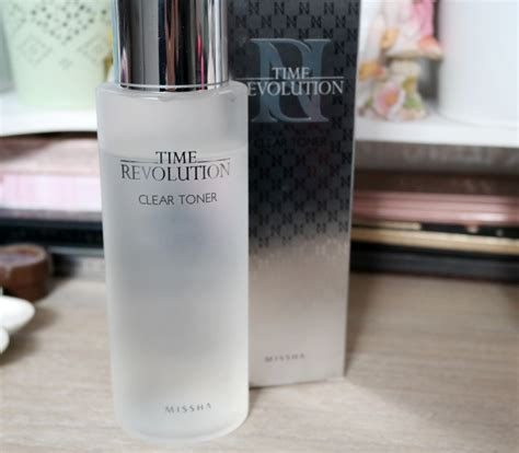 Missha Time Revolution Clear Toner missha time revolution clear toner review randomlydi