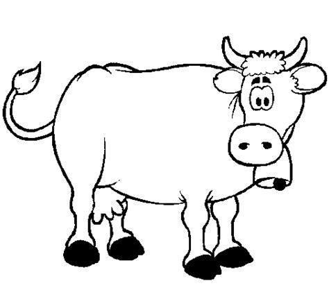 imagenes para pintar niños de dos años desenho de vaca leiteira pintado e colorido por usu 225 rio