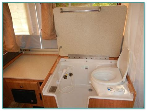 smallest rv with bathroom smallest pop up cer with shower and toilet
