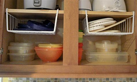 inside of kitchen cabinets organizing tupperware the hyper house
