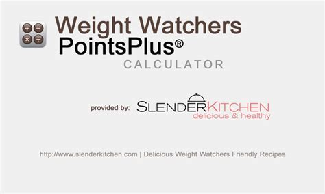 how to calculate your weight watchers points weight watchers point plus calculator exercise pinterest