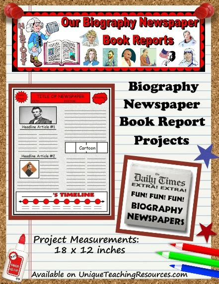 newspaper book report project newspaper article book report template quotes