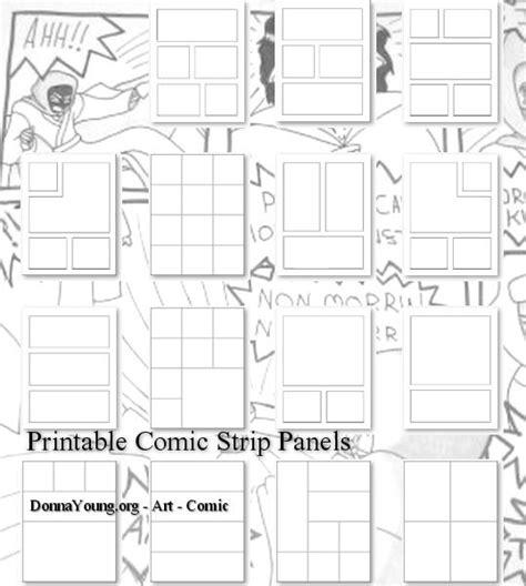 printable journey template printable comic strip templates printables pinterest