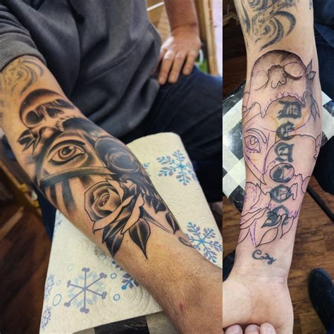 tattoo name cover up on forearm yoppul investigates the rise of cover up tattoos on the