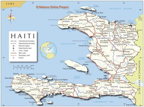 printable map haiti haiti participatory local democracy