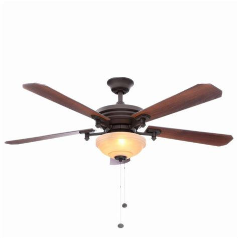 Alabama Ceiling Fans by Hton Bay Baxter Ii 52 In Indoor Rubbed Bronze